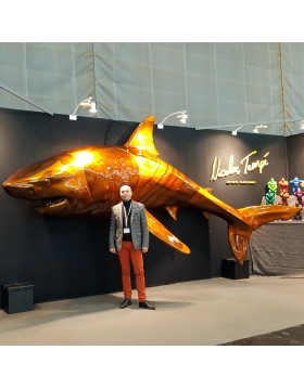 SHARK 600 mural